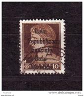 ITALY WW IIOCCUPATION 1944 FRANCE BASE  ATLANTICA  10c - 9. WW II Occupation (Italian)