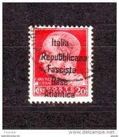 ITALY WW IIOCCUPATION 1944 FRANCE BASE  ATLANTICA  20c - Eastern Africa