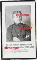Oorlog Guerre Emiel Dufraing Merkplas Soldaat Gesneuveld Te Congo Jan 1918 Loopgrachten Artillerie - Images Religieuses
