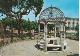 RIONERO IN VULTURE - PARTICOLARE GIARDINI PUBBLICI - AUTO D'EPOCA CARS VOITURES : FIAT 850 - VIAGGIATA 1973 - Other Cities