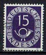 BRD 1951 // Mi. 129 O - Gebraucht