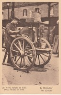 Edit. Grizard - Les Petits Métiers De Paris 75 : Le Rémouleur - Small Trades Of Paris : The Grinder - Craft