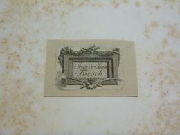 Ex-libris Typographique Illustré XVIII - JEAN DE JEAN FAESCH - Ex Libris
