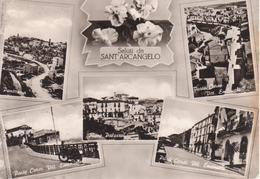 SANT'ARCANGELO - VEDUTINE MULTIVUES - VIAGGIATA 1964 - Other Cities