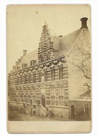 KANSELARIJ H A K RINGLER LEEUWARDEN    16*10CM NEDERLAND HOLLAND Cabinet Photograph - Ancianas (antes De 1900)