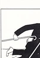 Tintin Lot 8 Cartes Parodie Sous Forme De Puzzle Illustrateur Inconnu Tirage Limité à 100 Exemplaires Cartes Numérotées - Bandes Dessinées