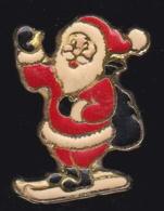 63678-Pin's-Père Noel .ski. - Navidad