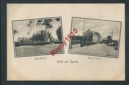 RAEREN. Burg Raeren Et Raeren-Titfeld.   Voir Oblitération   2 Scans. - Raeren
