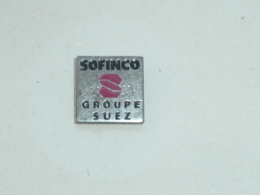 Pin's SOFINCO, GROUPE SUEZ - Banks