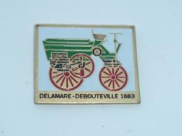 Pin's VOITURE DELAMARE-DEBOUTEVILLE 1883 - Autres