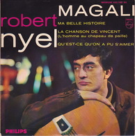 ROBERT NYEL - EP - 45T - Disque Vinyle - Magali - 432788 - Discos De Vinilo