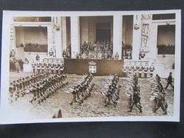 Postkarte Hitler Goebbels Himmler Mussolini In Rom Italien - Deutschland