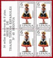 España. Spain. 1970. B4. Segovia. Trajes Regionales Regional Costumes - 1931-Oggi: 2. Rep. - ... Juan Carlos I