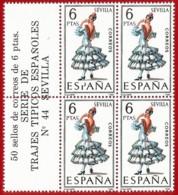 España. Spain. 1970. B4. Sevilla. Trajes Regionales Regional Costumes - 1931-Oggi: 2. Rep. - ... Juan Carlos I