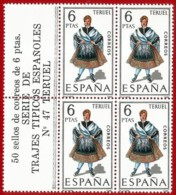 España. Spain. 1970. B4. Teruel. Trajes Regionales Regional Costumes - 1931-Oggi: 2. Rep. - ... Juan Carlos I
