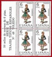 España. Spain. 1970. B4. Toledo. Trajes Regionales Regional Costumes - 1931-Oggi: 2. Rep. - ... Juan Carlos I