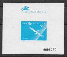 Portugal Épreuve Souvenir Europa CEPT 1991 Espace Space Eutelsat II Souvenir Proof - Europa-CEPT