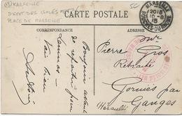 Cachet Militaire : 13 MARSEILLE . - Marcophilie (Lettres)