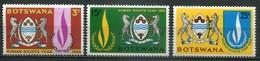 Botswana Mi# 40-42 Postfrisch MNH - Human Rights Year - Botswana (1966-...)