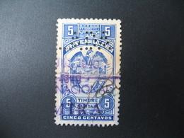 Perforé Perfin Lochung , Colombie    See, à Voir     (...ANUL) ..ADA  Oblitération Bleue Juin 1970  Nacional  (cassure) - Colombia