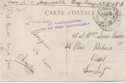 Cachet Militaire : 14 CAEN . - Marcophilie (Lettres)