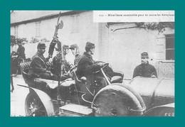 REPRODUCTION Mitrailleuse Automobile Pour Tir Contre Les Aéroplanes - Materiaal