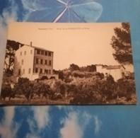 83 - SANARY - HOTEL DE LA GORGUETTE ET VILLAS - CPSM CARTE PHOTO COLORISEE ECRITE EN 1959 - Sanary-sur-Mer