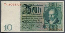 Pick 180a Ro 173a DEU-183a  10 Mark 1929 AUNC - 10 Mark