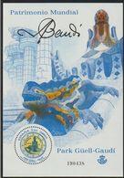 España 2014 Edifil 4876 Sello ** HB Patrimonio Mundial Gaudi Y Parque Güell 3,16€ Spain Stamps Timbre Espagne Briefmarke - 1931-Today: 2nd Rep - ... Juan Carlos I