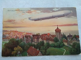 Le Dirigeable Graf Zeppelins Lenkbares Luftchiff ùber Bregenz - Dirigeables