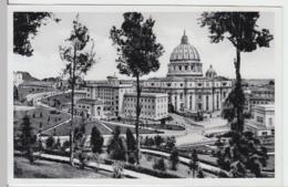 (18203) Foto AK Vatikanische Paläste, Petersdom 1938 - Vatikanstadt