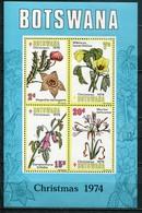 Botswana Mi# Block 8 Postfrisch MNH - Flora - Botswana (1966-...)