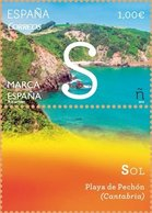 España 2014 Edifil 4879 Sello ** Marca España Sol Playa De Pechon Cantabria 1,00€ Spain Stamps Timbre Espagne Briefmarke - 1931-Heute: 2. Rep. - ... Juan Carlos I