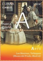 España 2014 Edifil 4881 Sello ** Marca España Arte Las Meninas Velazquez (Museo Del Prado Madrid) 1,00€ Spain Stamps - 1931-Today: 2nd Rep - ... Juan Carlos I