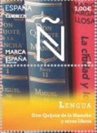 España 2014 Edifil 4882 Sello ** Marca España Lengua Don Quijote De La Mancha Y Otros Libros 1,00€ Spain Stamps Timbre - 1931-Today: 2nd Rep - ... Juan Carlos I