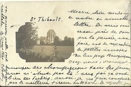 Carte Photo Saint Thibault Eglise Cote D Or - Sonstige Gemeinden