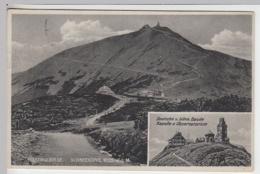 (20854) AK Schneekoppe, Riesengebirge 1929 - Sudeten