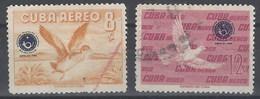 Cuba Aereo U 210/211 (o) Usado. 1960 - Airmail