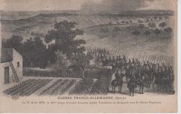 CPA Guerre Franco-Allemande 1870-71 - Le 27 Août 1870, Le 12e Corps D'armée Français Quitte Tourteron ... - Guerres - Autres