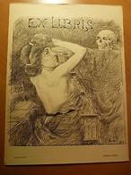 Alsace-Edmond Langer-Ex-Libris-Hazweiess 1913-Elsass-Strasbourg - Libros, Revistas, Cómics