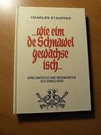 Alsace-Dialecte Alsacien-Sprichwörter Und Redensarten Aus Dem Elsass-Ch.Stauffer - Livres, BD, Revues