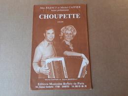 Partitions -  Choupette - Spartiti