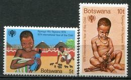 Botswana Mi# 237-8 Postfrisch MNH - UNICEF - Botswana (1966-...)