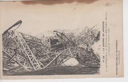 CPA La Guerre En Argonne - Le Zeppelin L. Z. 77 Abattu à Revigny Le Lundi 21 Février 1916 - War 1914-18