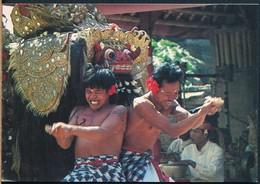 °°° 20241 - INDONESIA - BALI - KERIS & BARONG DANCE °°° - Indonesia