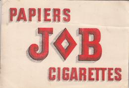 Buvard Ou Carton  Du Papiers JOB Cigarettes - Blotters