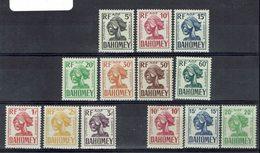 Dahomey - Taxes 19/28 + 29/31 - Neufs X - Traces De Charnières Propres - - Ongebruikt