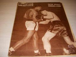 BUT Et CLUB 269 28.11.1950 BOXE ROBINSON STOCK CYCLISME BOL D'OR MAGNI VALENTA - Sport
