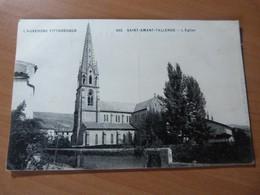 CPA. L'Auvergne Pittoresque. Saint-Amant-Tallende. L'église - 1901-1940