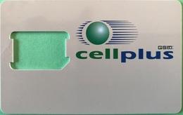 MAURICE  -  SIM Card  -  Cellplus GSM  -  Coque Sans Puce - Mauricio